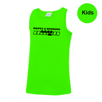 Ropes & Running singlet - kids