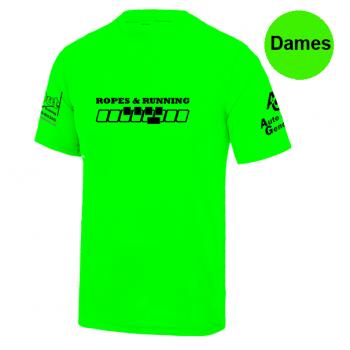 Ropes & Running shirt - dames