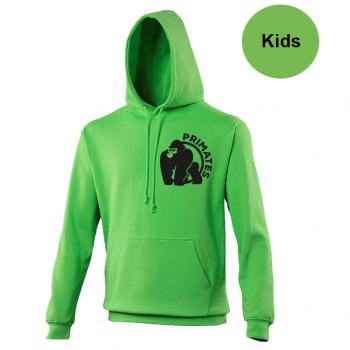 Primates hoody groen - kids