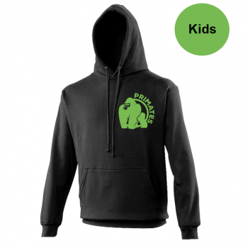 Primates hoody zwart - kids