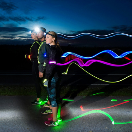 LED Safety Click band