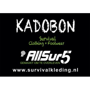 AllSur5 kadobon €10,-