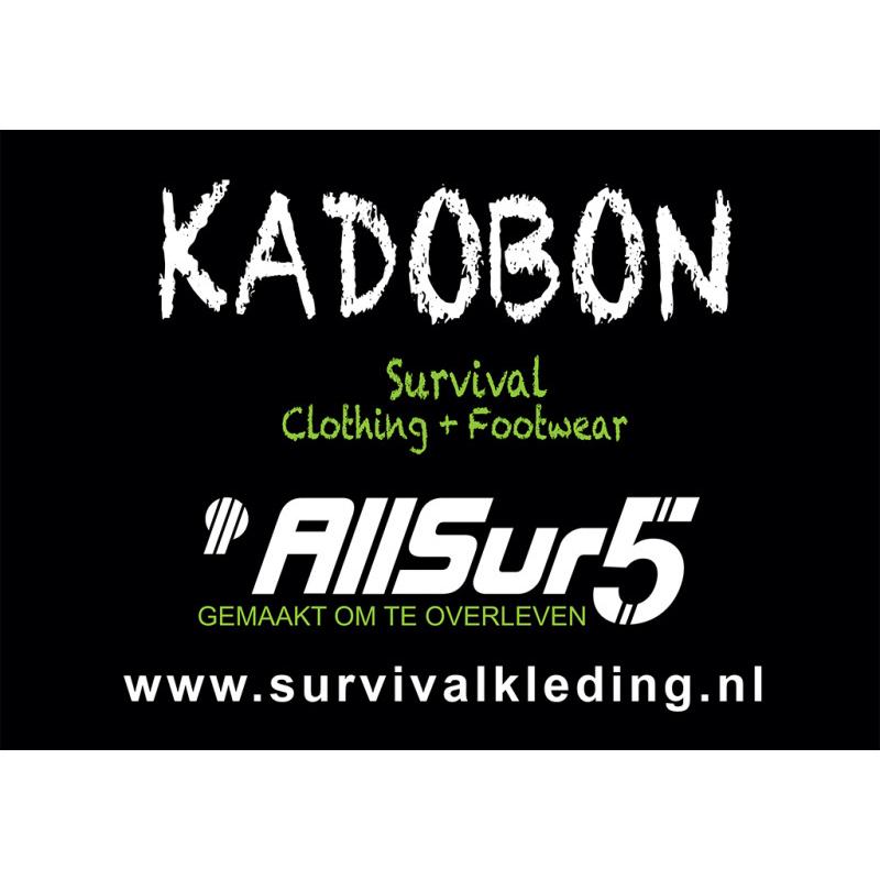 AllSur5 Kadobon €50,-