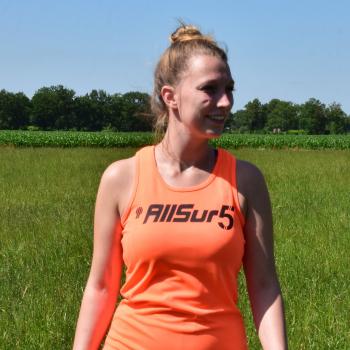 AllSur5 singlet - oranje