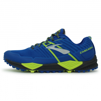 Brooks Cascadia 13 - heren blauw